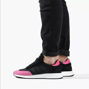Adidas Originals Core Black Pink Boost Size 11 NWT